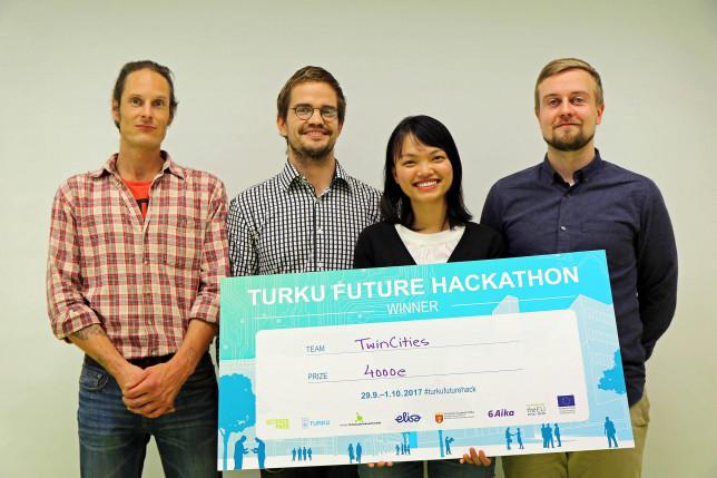 Hackathon-voittaja: TwinCities