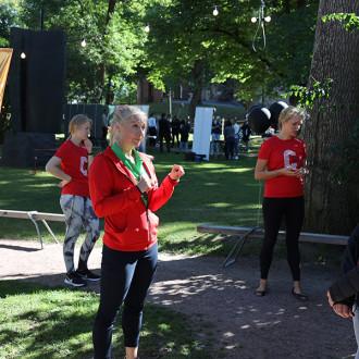 Campussport esittäytyy Study in Turku-messuilla