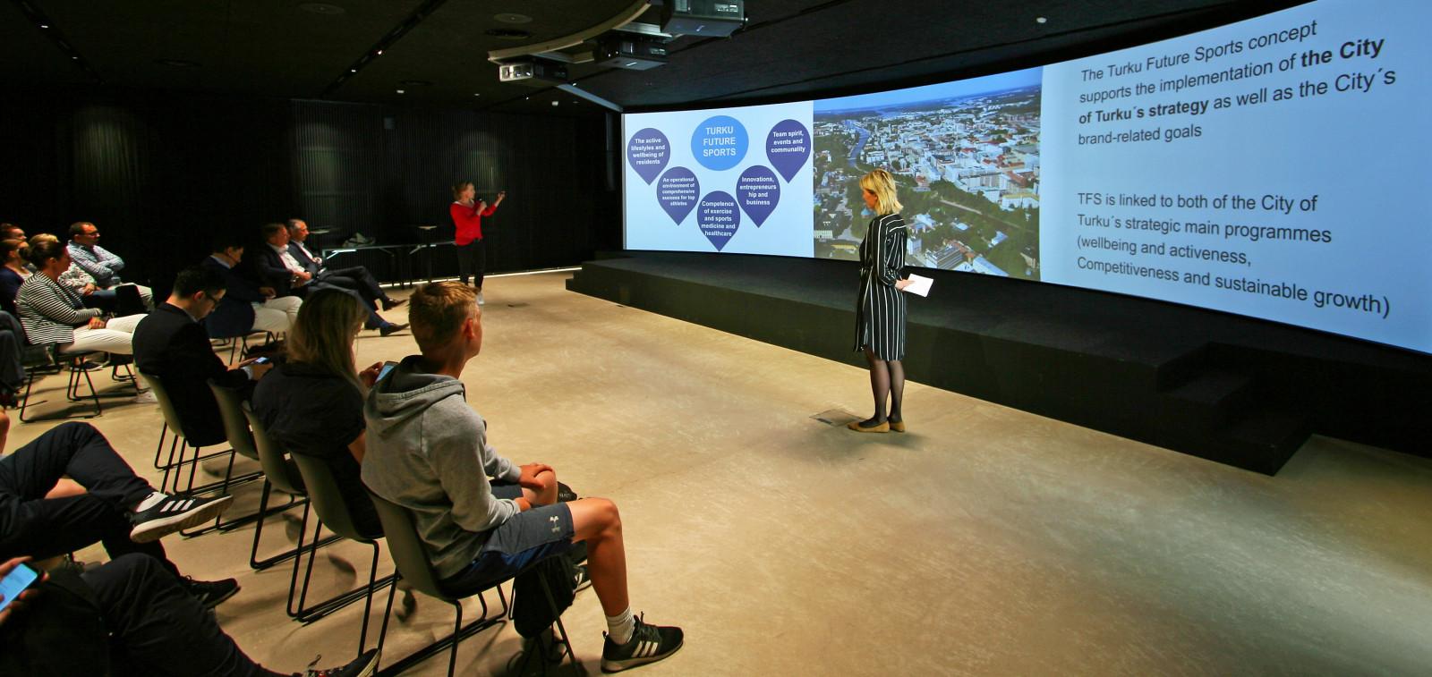 Turku Future Sports -projektin esittely 10.6.2019